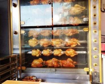 Volailles rôties à emporter : poulets bio, pintades, canettes…